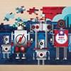 Mudpuppy Robotics Foil Puzzle - na