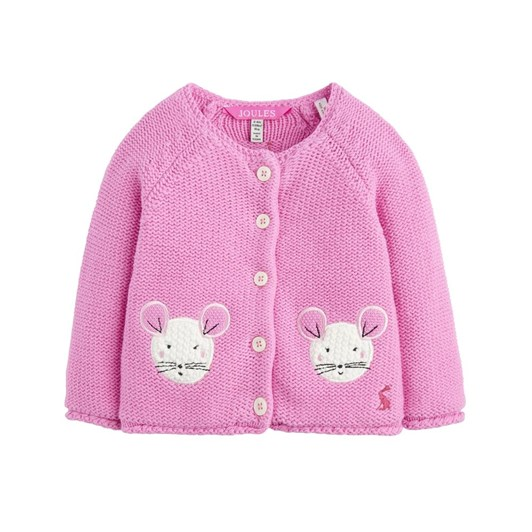 Joules Knitted Cardigan With Novelty Patches