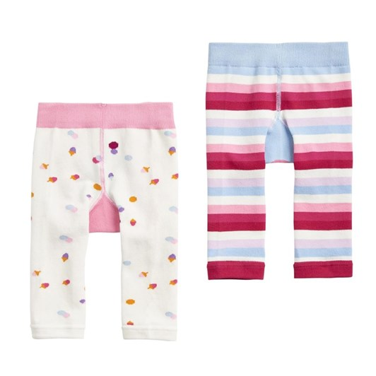 Joules Baby Girls Two Pack Legging Set