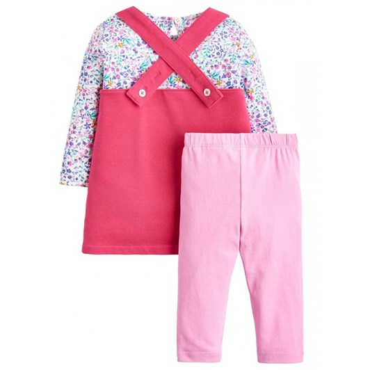 Joules Three Piece Pinafore Set