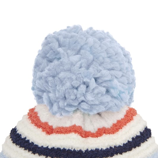 Joules Chenille Knitted Bobble Hat