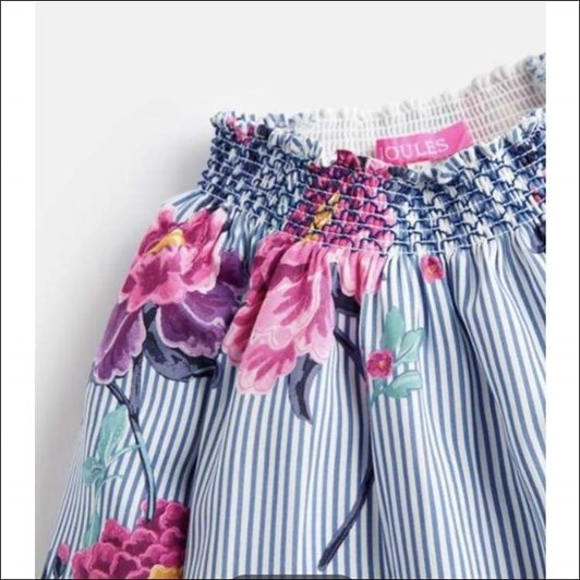 Joules Woven Smocked Blouse