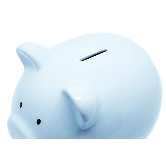 Pearhead Piggy Bank /Blue