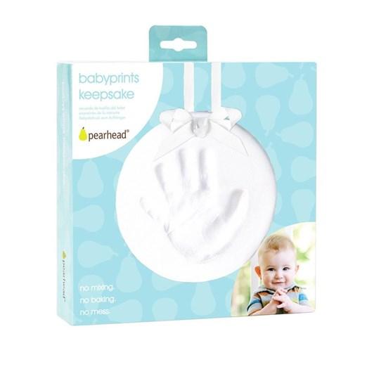 Pearhead Babyprints Hanging Keepsake/White