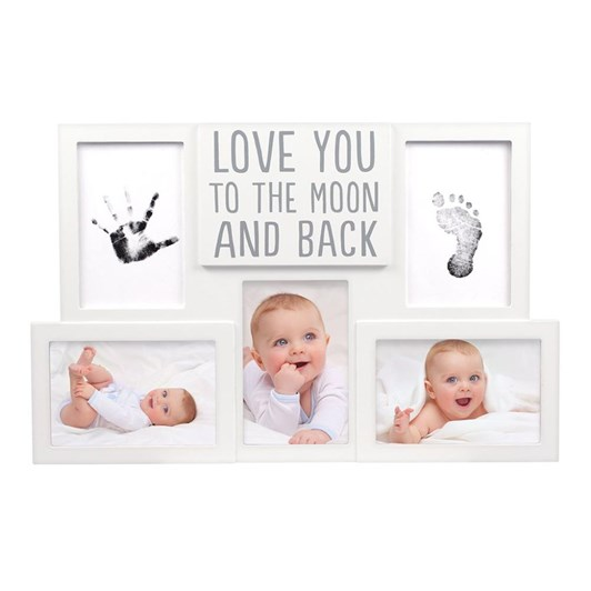"Pearhead Babyprints Collage Frame/""Love You To The Moon And Back"""