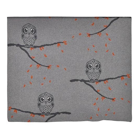 Babu Multi Owl Cotton Blanket