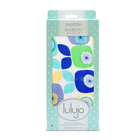 Lulujo Bamboo Swaddle Blanket – Funky Fruit