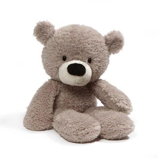 Gund Fuzzy Grey Bear 34Cm
