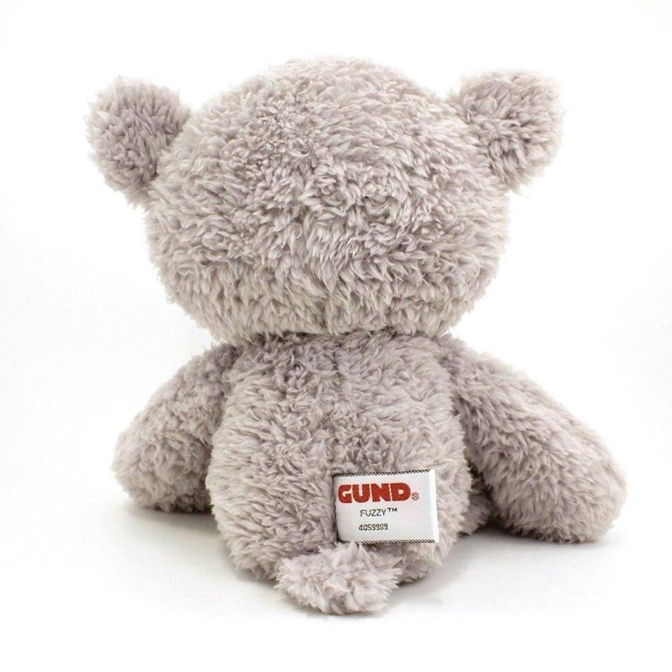 Gund Bear: Fuzzy Grey 34Cm -