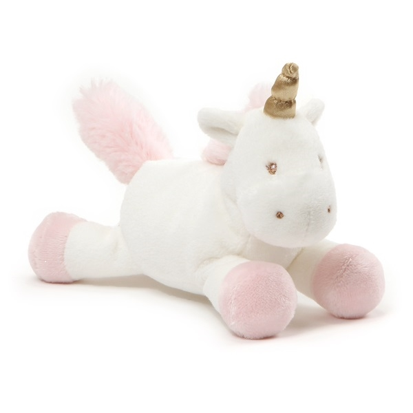 Jasnor Luna Unicorn Plush With Rattle 18Cm -