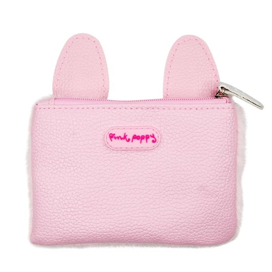 Pink Poppy Into The Woods Bunny Coin Purse - Pale Pink