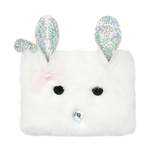 Pink Poppy Into The Woods Bunny Coin Purse - White