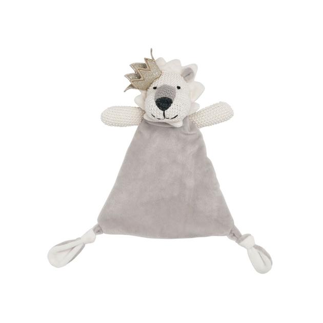 Lily & George Lancelot Lion Comforter -