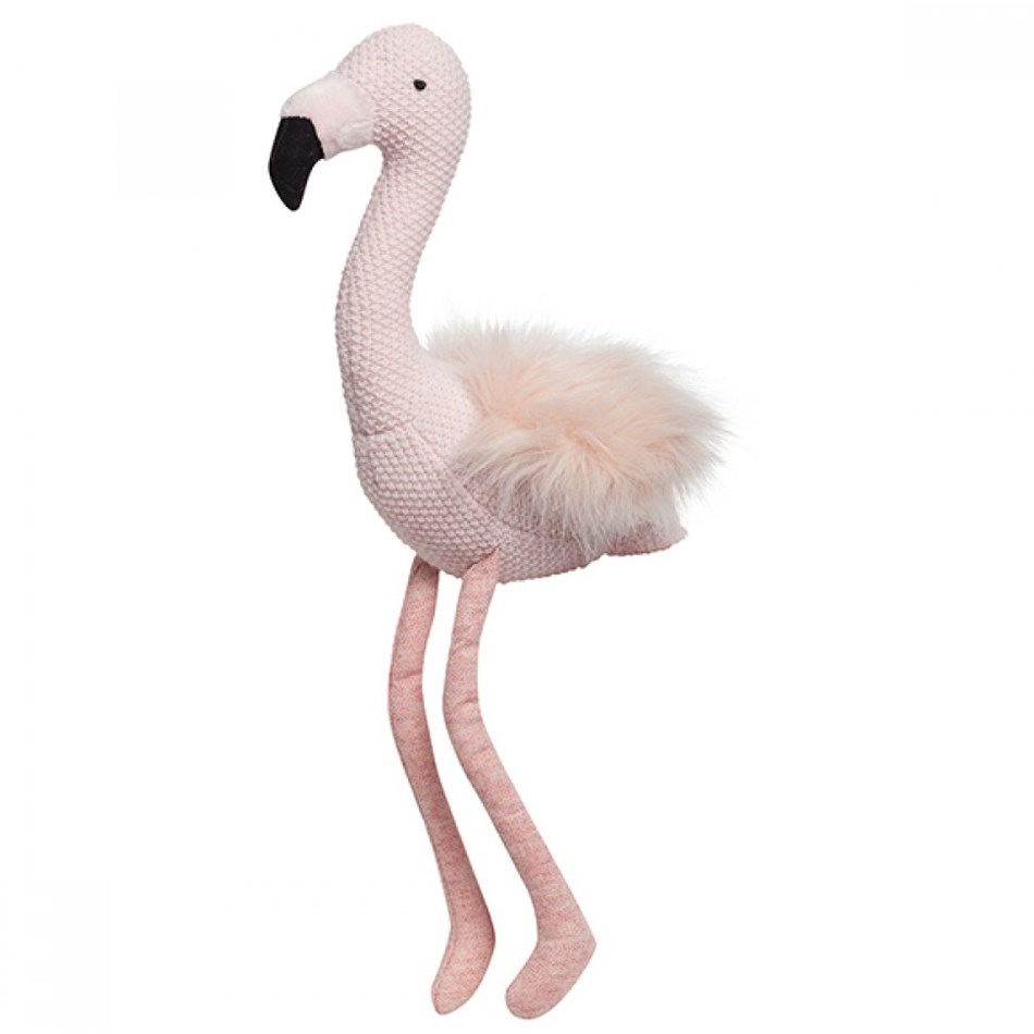 Lily & George Florence Flamingo Rattle -