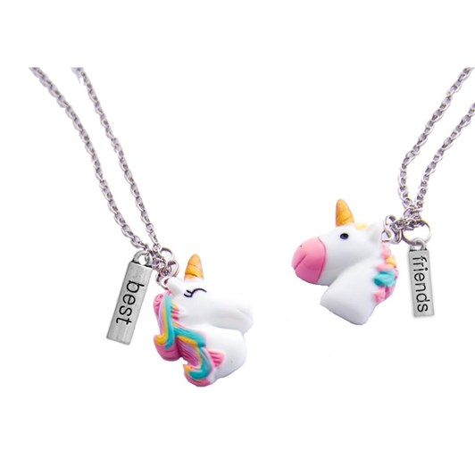 Huckleberry Make Your Own Bff Necklace Unicorn Buddies