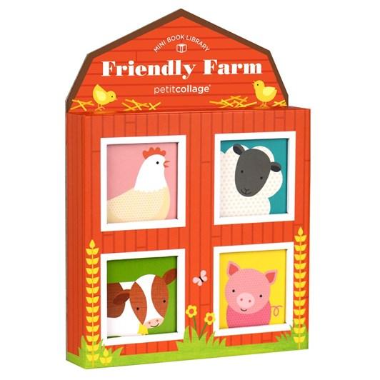 Petit Collage Friendly Farm Mini Library