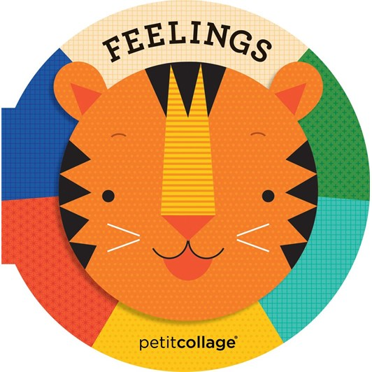 Petit Collage Feelings Board Book