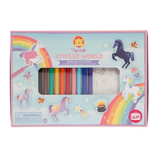Tiger Tribe Sticker World Magical Unicorns