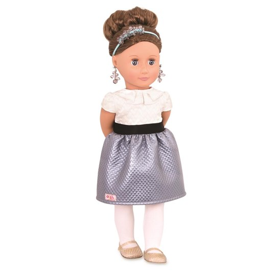"Our Generation Dolls Og 18"" Jewellery Doll - Aliane"