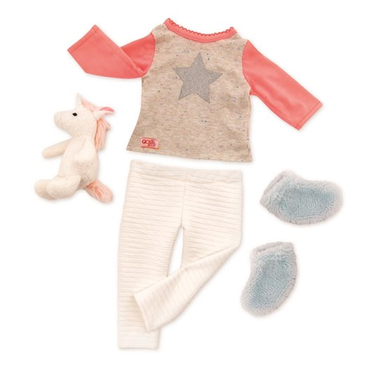 Our Generation Dolls Unicorn Pyjama Outfit