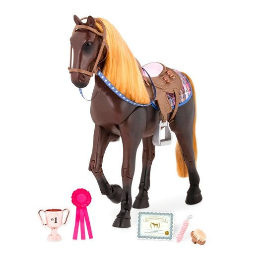 Our Generation Dolls Horse Thoroughbred Posable