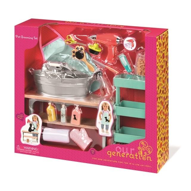 Our Generation Dolls Og Accessory - Grooming Salon Set -