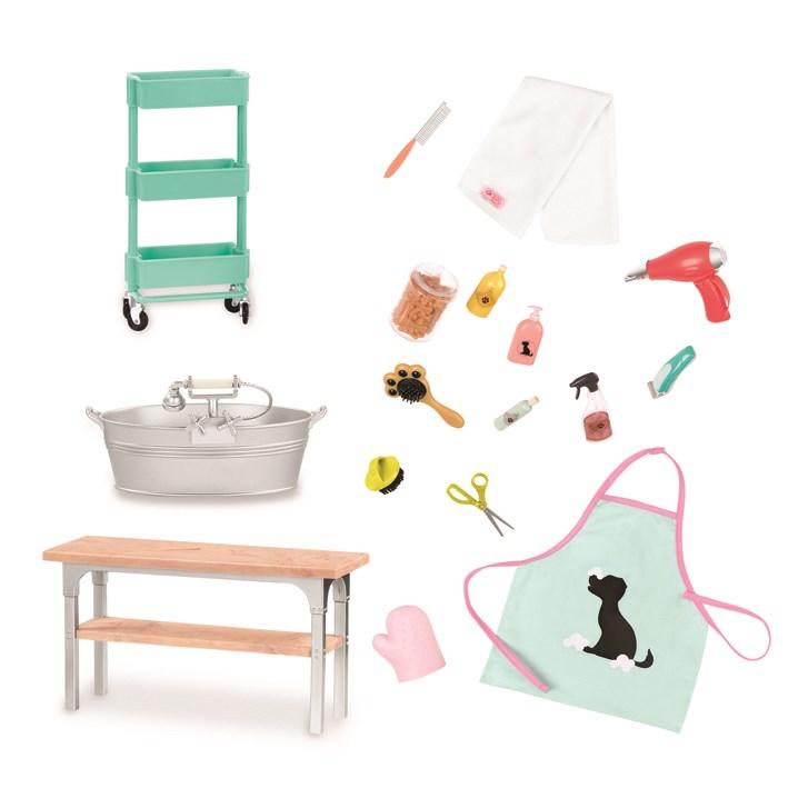 Our Generation Dolls Og Accessory - Grooming Salon Set - na