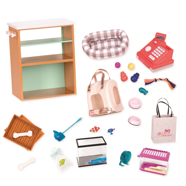 Our Generation Dolls Og Accessory - Deluxe Pet Store Set -