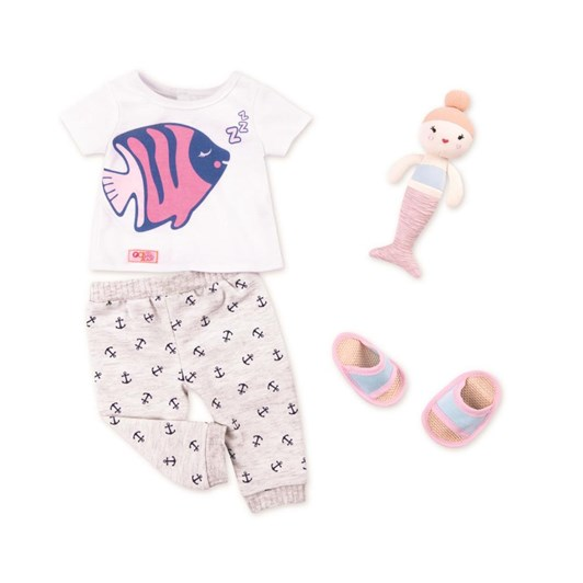 Our Generation Dolls Og Regular Outfit - Nautical Pyjama