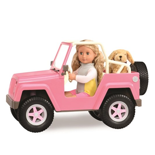 Our Generation Dolls Og Accessory - 4 X 4 Off Roader With Electronics