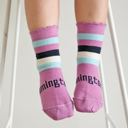 Lamington Socks Boysenberry