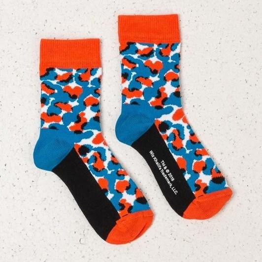 Happy Socks Wiz Khalifa Black & Blue Sock