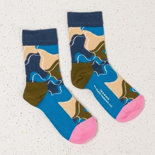 Happy Socks Wiz Khalifa Raw Sock