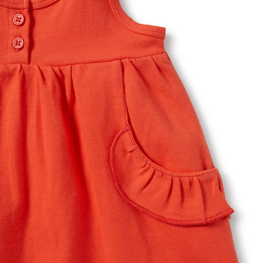 Wilson And Frenchy  Ruffle Pocket Dress