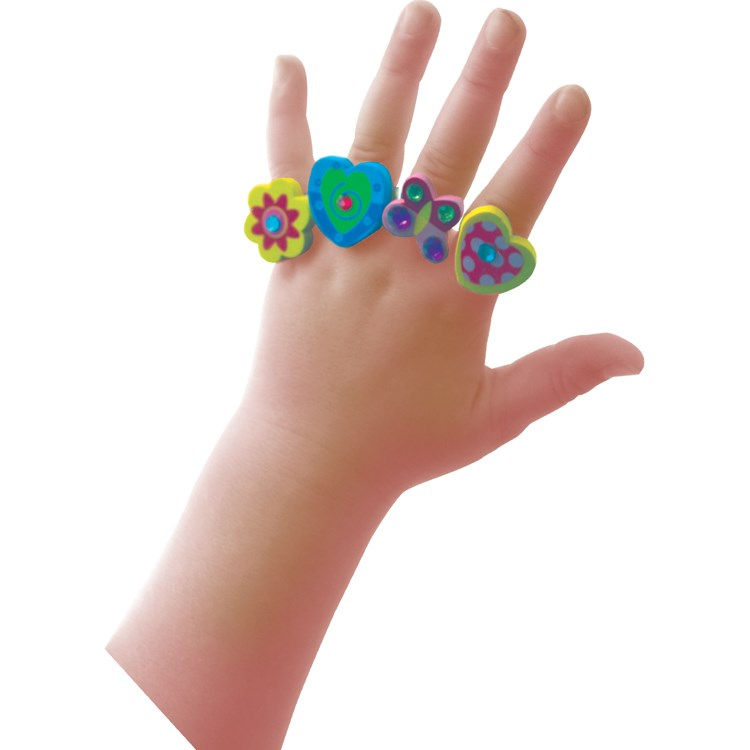 House Of Marbles Pretty Wooden Rings -