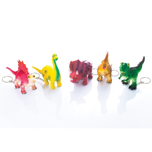 House Of Marbles Dino Keyrings