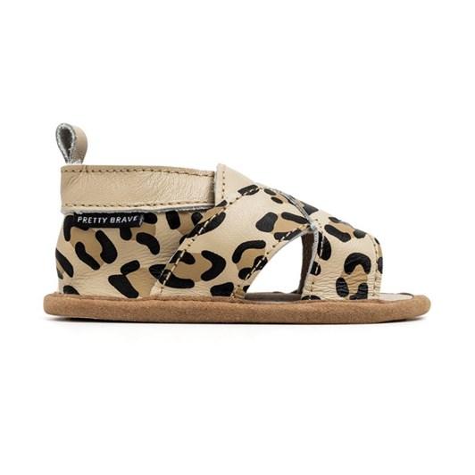 Pretty Brave Cross-Over Sandal Leopard
