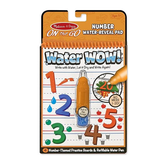 Melissa & Doug Water Wow Numbers