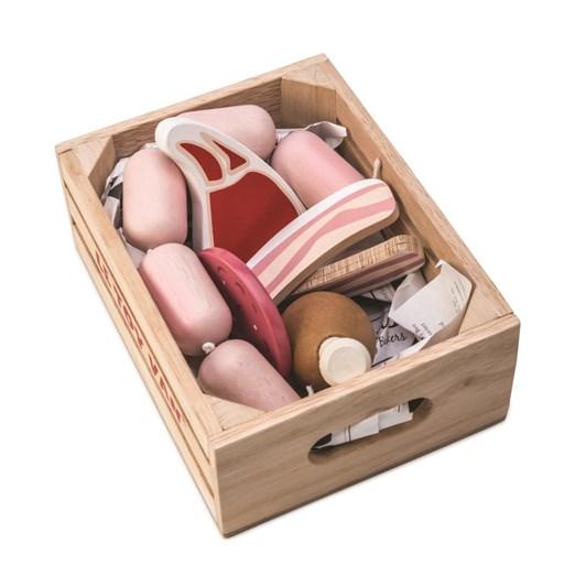 Le Toy Van Makrket Meat Crate