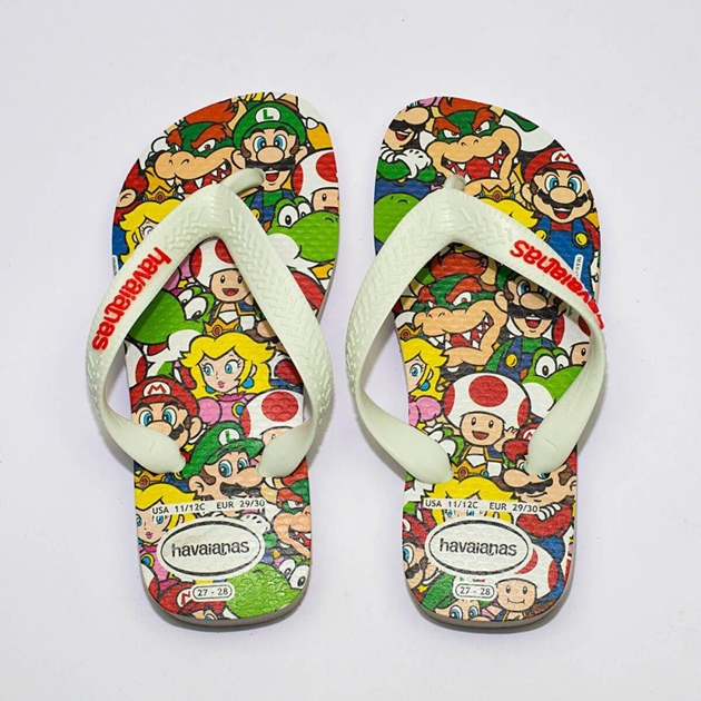 1b63e3e2b Shoes   Socks - Havaianas Kids Top Mario Bros 0001 - Ballantynes ...