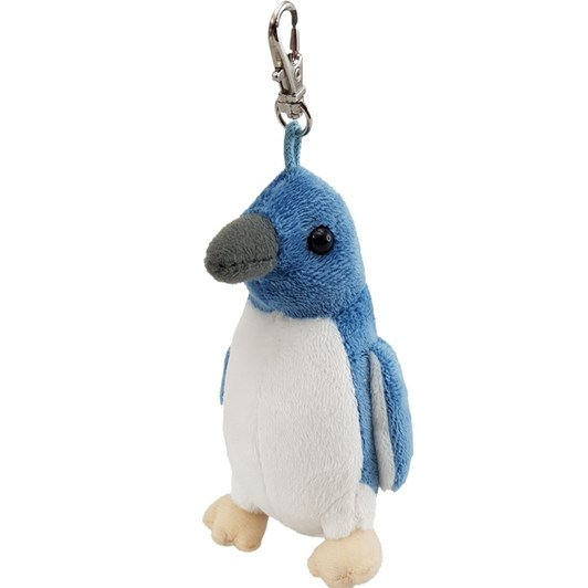 Antics Blue Penguin Keyclip