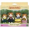 Sylvanian Families Maple Cat Family -