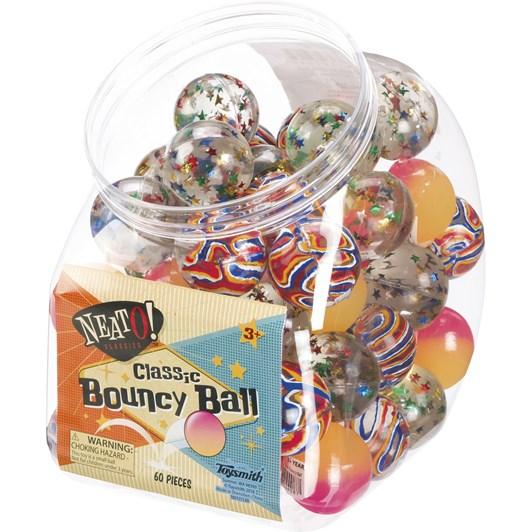 Toysmith Neato Classic Bouncy Balls