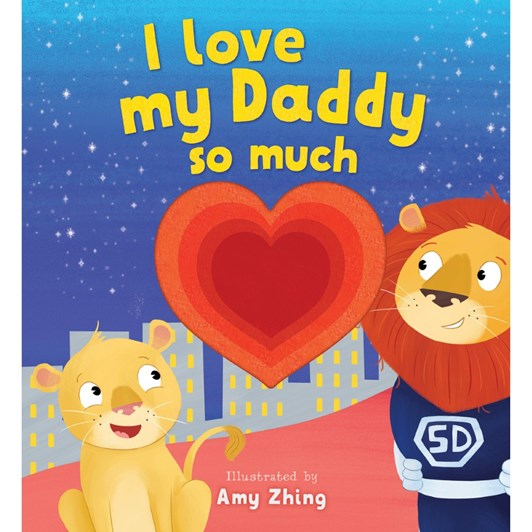 Blue Duck Books I Love My Daddy So Much
