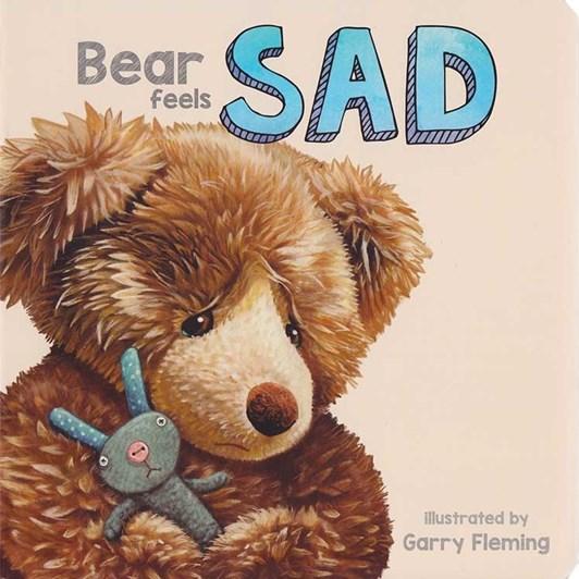 Blue Duck Books Bear Feels Sad