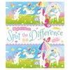 Blue Duck Books Magical Unicorn Spot The Difference -