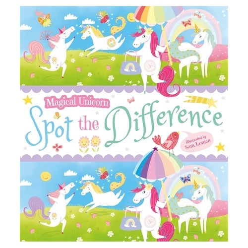 Blue Duck Books Magical Unicorn Spot The Difference
