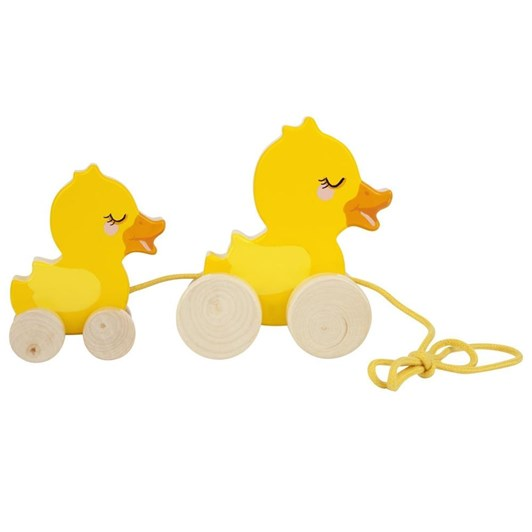 Sunnylife Ducky Family Push Pull Toy