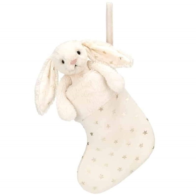 JellyCat Bashful Twinkle Bunny Stocking -