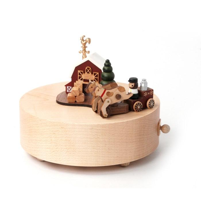 Wooderful Life - Round & Round Music Box - Happy Farm 1pc -